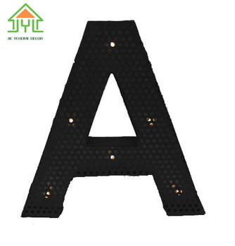 04b2a1ce4 Beautiful Design A Style Decoration English Letter With Lamp Factory ...