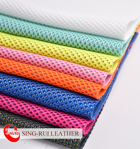 Colorful Breathable Polyester Mesh Fabric for Running Sports Shoes