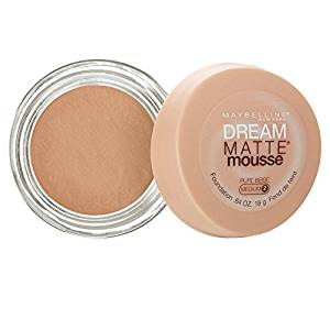 Maybelline Dream Matte Mousse Foundation – Pure Beige (Medium 2)