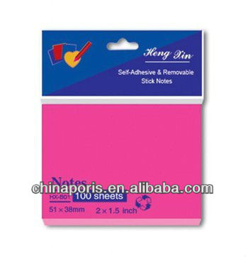 easy use self sticky notes new fashion good quality notes