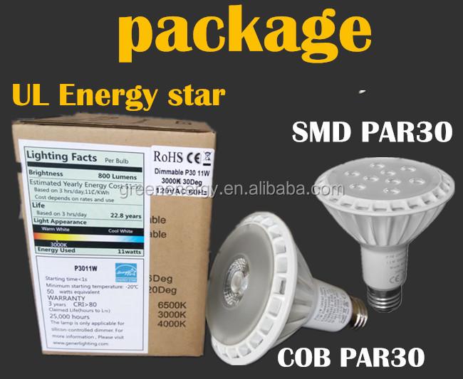 Led Light Bulb Ul Energy Star Led Par20 Par 30 Led Spot Light ...