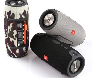 2 in1 outdoor Small War Drum power bank + wireless speakers with belt straps