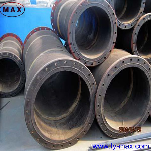 Flange Connections Water Delivery Rubber Hose Pipe With High Pressure/Best Price
