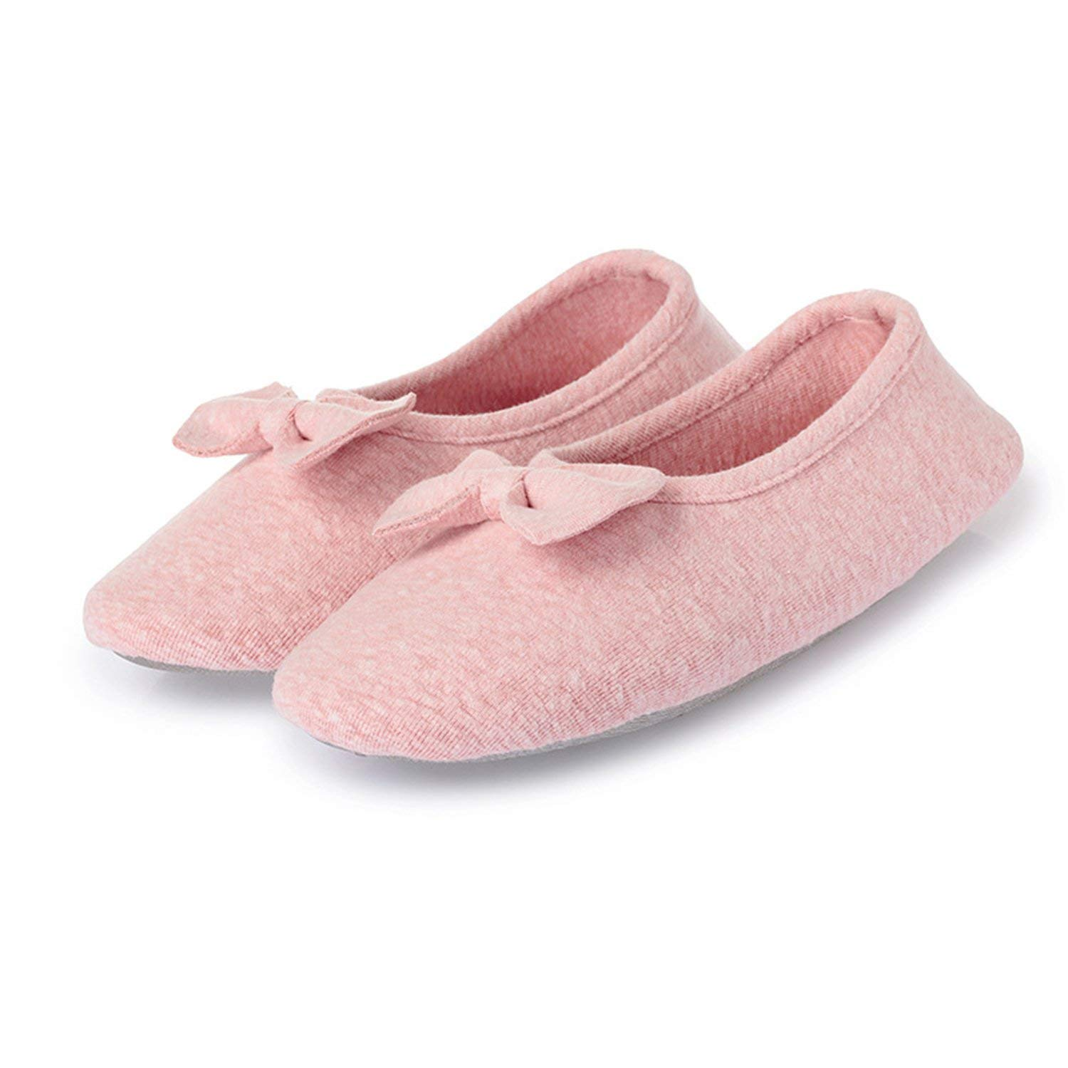 Get Quotations L Run Women S Ballerina Style Slippers Anti Skid House Indoor Shoes Washable