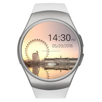 KW18 Smart Watch SN05 Round Bluetooth Smartwatch with SIM Card Slot Compatible with Samsung LG Sony HTC HUAWEI Google Xiaomi