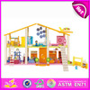 2015 New product wooden toy house for kids,best quality children toy house,hot sale wooden toy house for baby W06A057