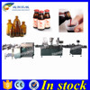 Shanghai Automatic bottle filling line,washing filling capping and labeling machine
