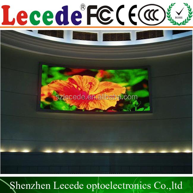 Clear view HD entertainments led screen video display p4 oled