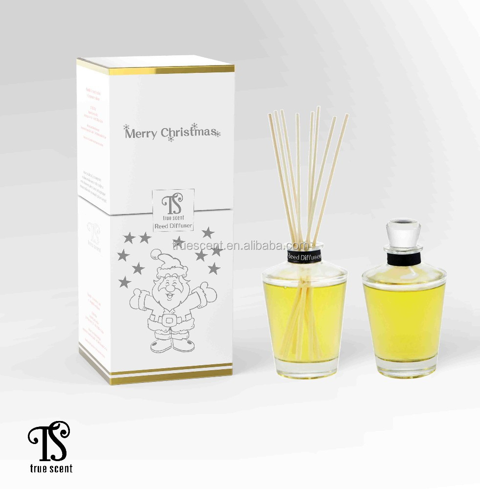 Kerst Geur Olie Reed Diffuser 120 ml Kous Fles TS-RD171