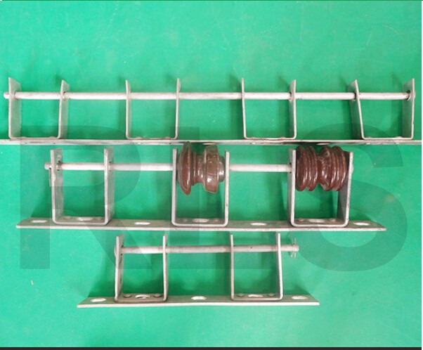 Insulator Secondary Rack with D-Iron Bracket / power Hardware