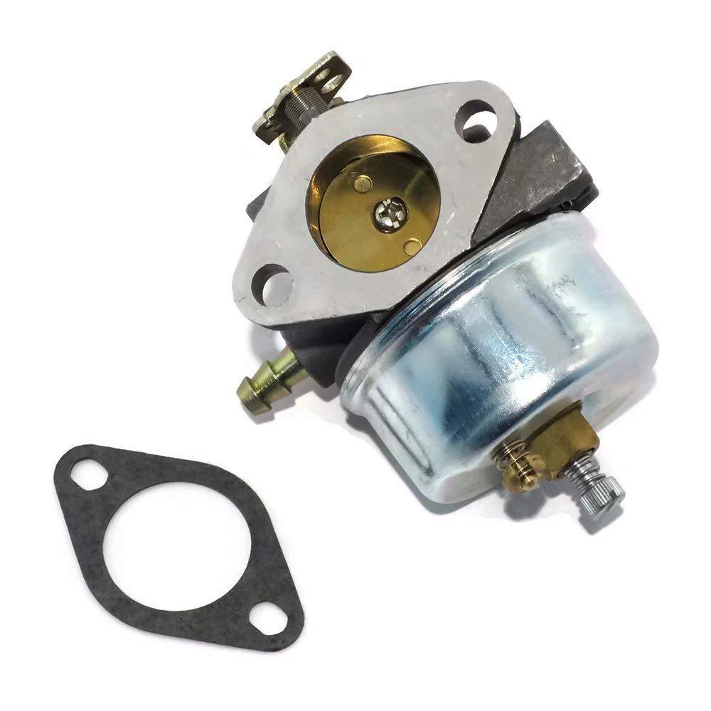 JUMBO FILTER Carburetor Replacement for Tecumseh 632370A 632370 632110 Snow Blower for Tecumseh HM100 HMSK100 HMSK90 Carb Kit