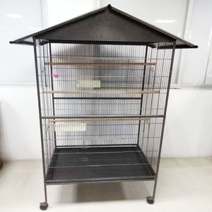 Supermarket Hot Sale Large African Grey Parrot Cage Bird Cage Pet Cage110 x 76 x 168mm