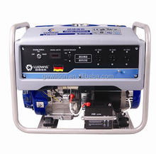 5 Days delivery 3-10kW gasoline generator with wheels single phase three phase