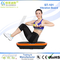 2016 Power Max Vibration Plate PowerFit Platform Fitness Plate - Full Body Vibration Machine - Exercise Workout