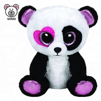 db678215e7b TY Beanie Boos 2019 New Valentine Gift Soft Toy Panda Teddy Bear Cute  Custom Kids Stuffed