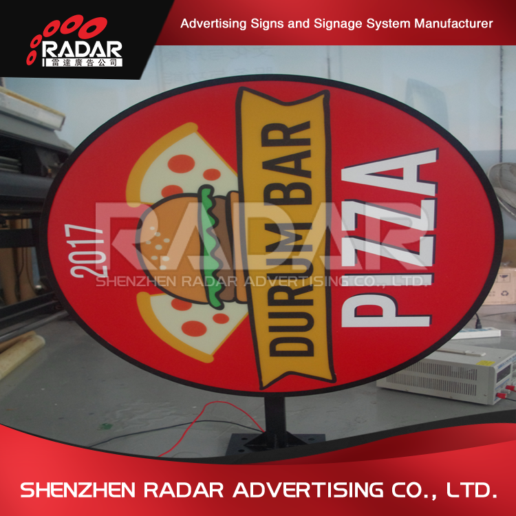 Competitive price custom led light box sign