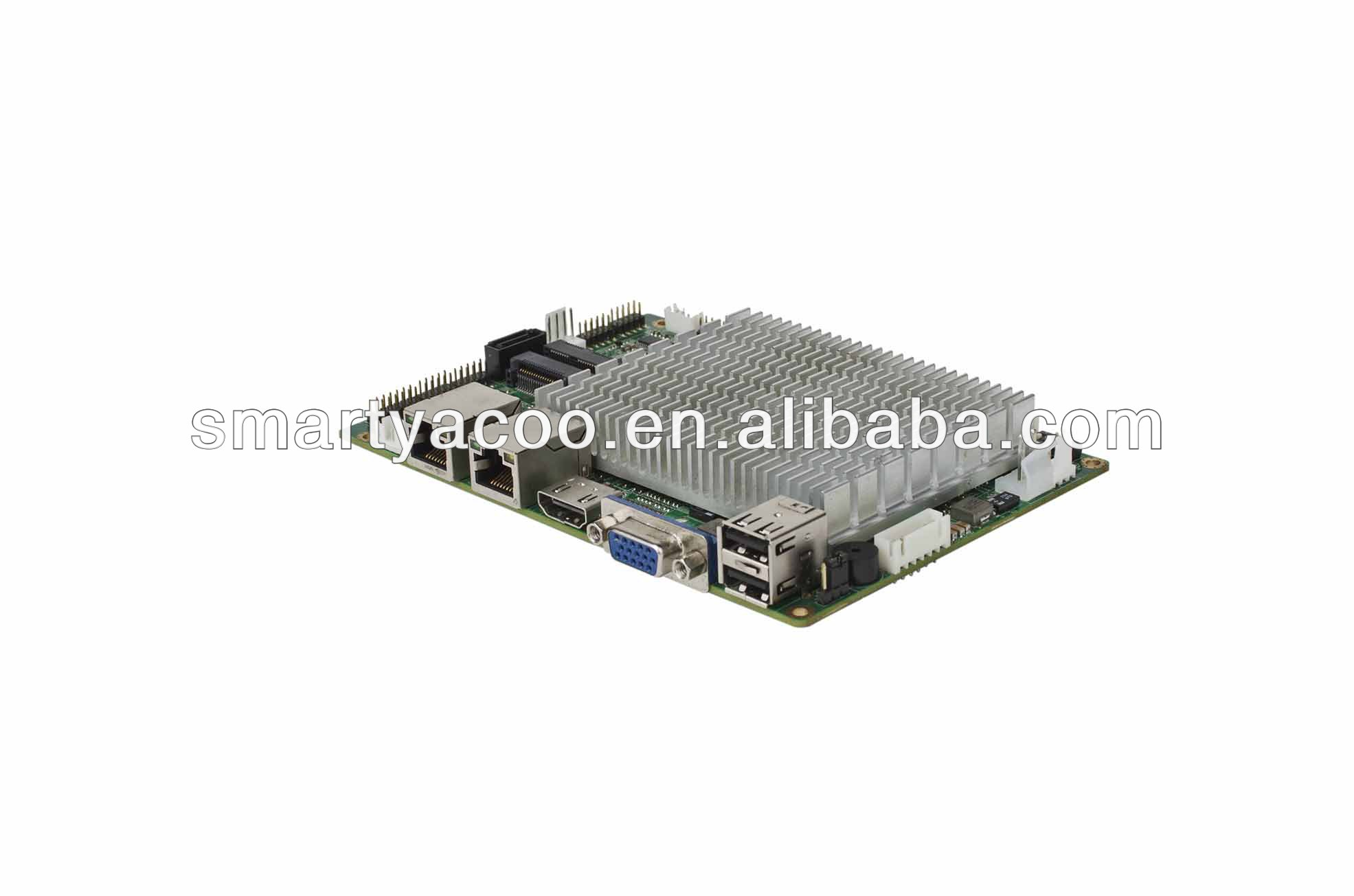 3.5 inch Intel Atom Cedar Trail N2600/2800 CPU Fanless Embedded Industrial Motherboard ENC-5891