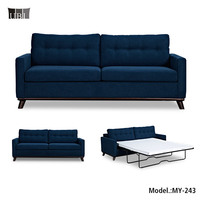 Folding Sofa Bed For Hotels,Metal Mechanism Sleeper Sofa,American Style Sofa Cum Bed