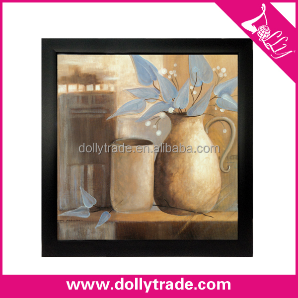 40*40cm Modern Prints Oil Painting Flower Vase Picture
