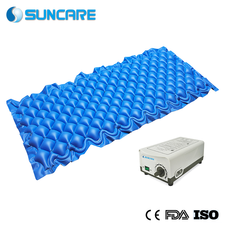 M7 Blue Bubble Medical Air Mattress With P1000 Pump Anti Bedsore