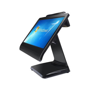 "China supermarket retail pos machine 15.6"" touch screen all in one pos system"
