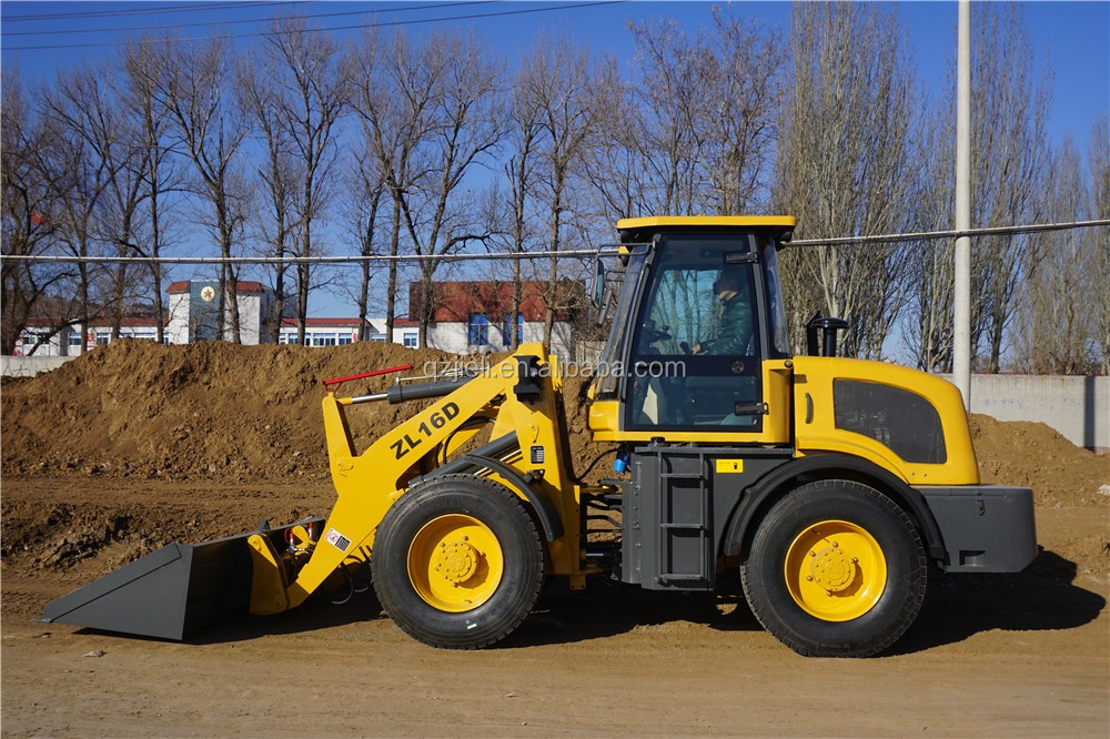 new design smaller loaders zl16 with high quality