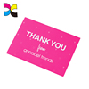 full color offset printing wholesale OEM custom glossy product thank you cards