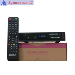 Real tv box Enigma2 Linux DVB C cable set top box zgemma-star LC cable tv decoder