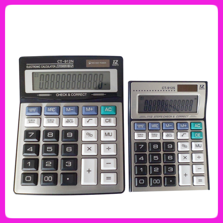 Desktop Calculator Ct 912vii Desk 12 Digits