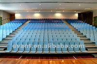 professional design anti-fire movable grandstand retractable tribune stadium seating university basketball badminton games chair
