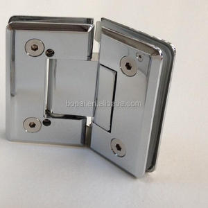 135 degree curve edge brass shower door 10mm glass door hinge