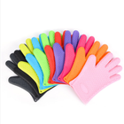 Eco-Friendly Insulated Durable Kitchen Silicone Bbq Cooking Oven Heat Resistant Glove