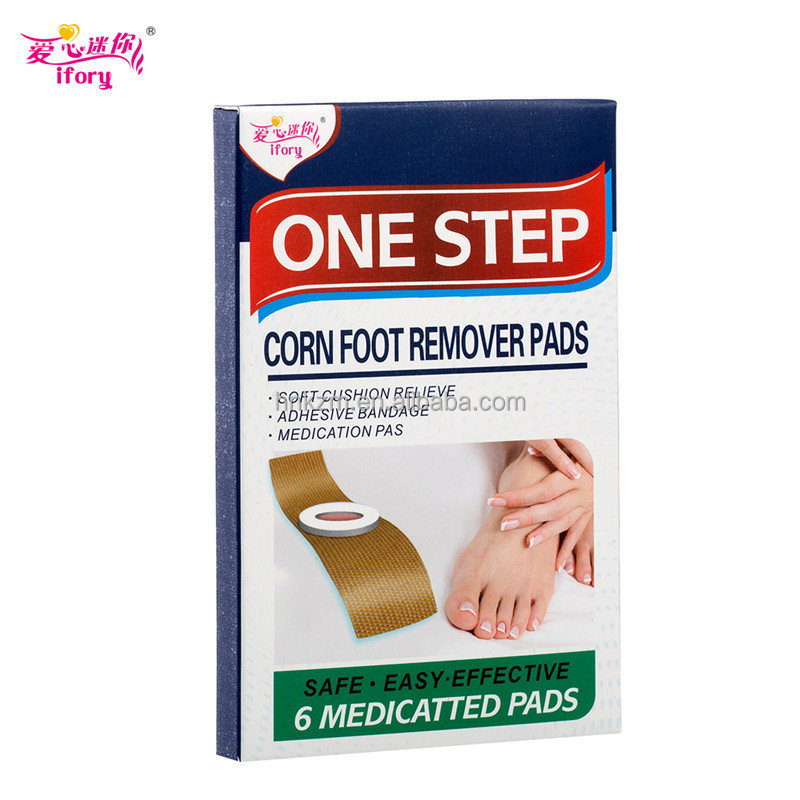 Alibaba Suppliers Medical Adhesive Corn Removal Plaster treatment foot