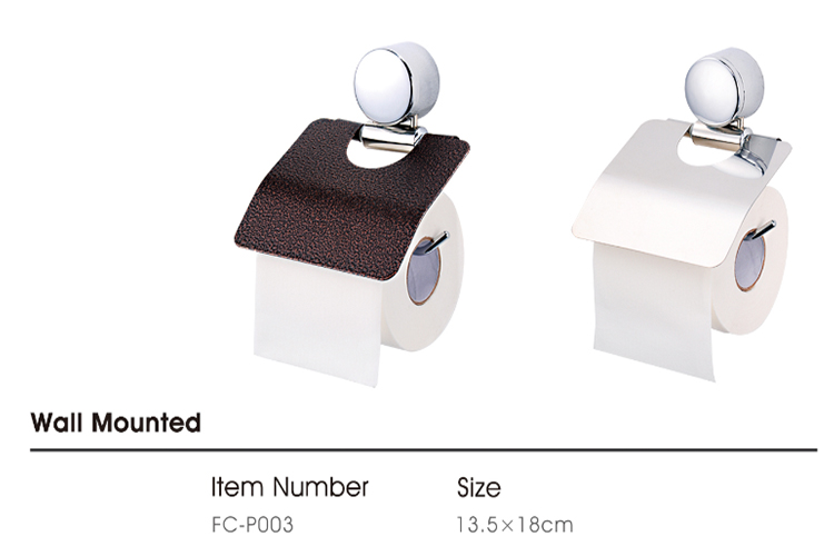 Roll Dispenser สแตนเลสสตีลผู้ถือกระดาษผ้าเช็ดตัว