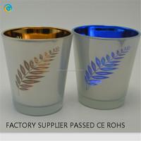 leaf logo bulk votive holders stained glass candle holder