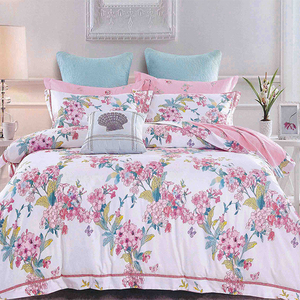Superbe Promotional Colorful Flower Bed Sheets