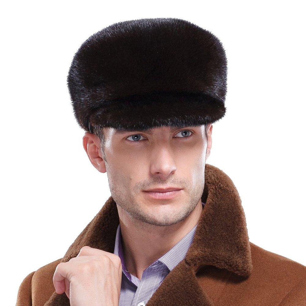 Get Quotations · Mink Full Fur Sailor Hat 00ebd6d4006b