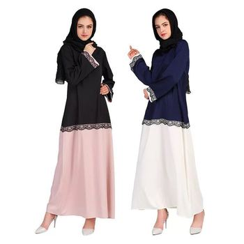 20172018 Modest Fashion Islamic Clothing Maxi Abaya Collection,Turkey Long Strap Loose Muslim Daily Dress