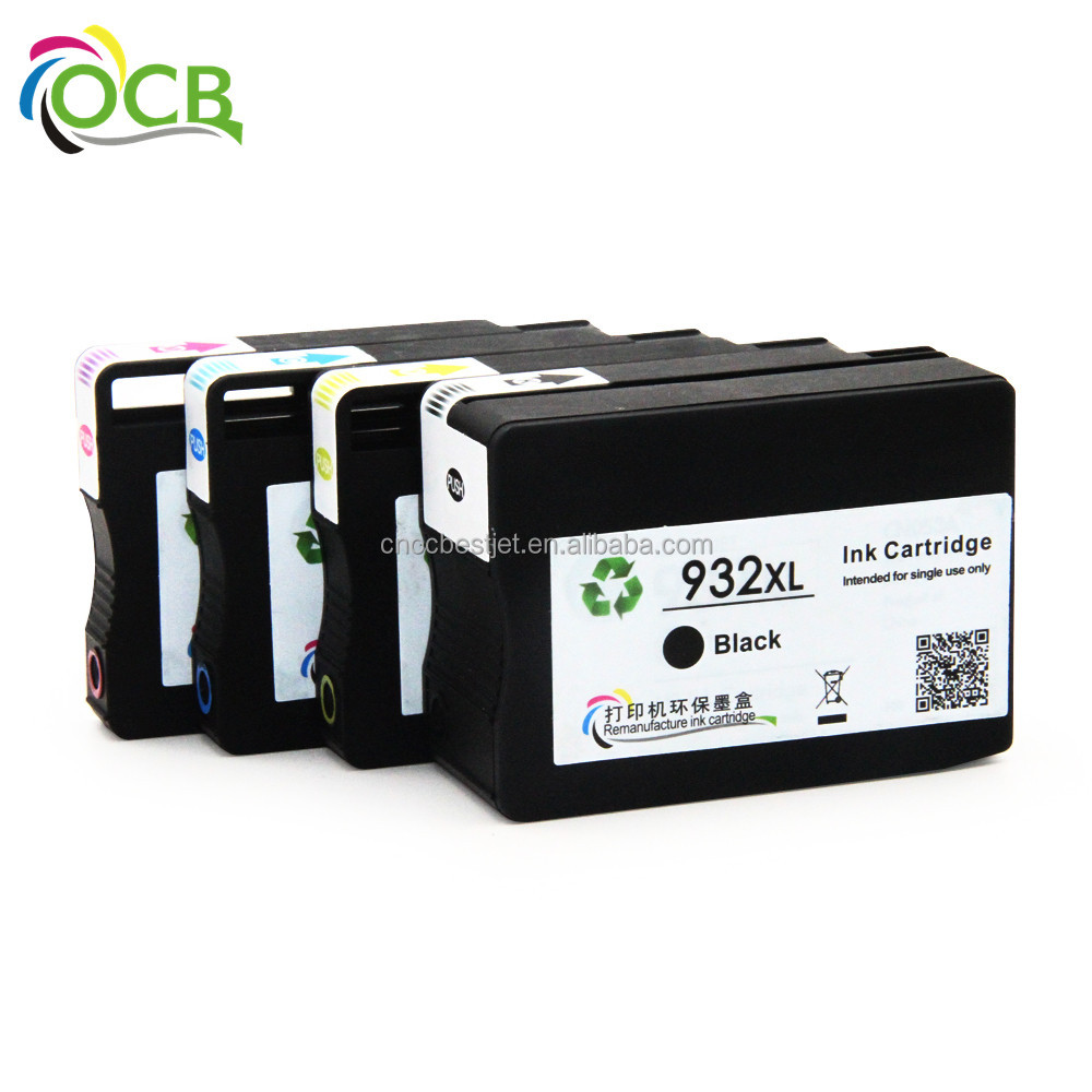 OCBESTJET For HP 932 XL 933 XL Ink Cartridge For HP Officejet 6700 Premium e-AIO Printer - H711n Printer Ink Cartridge