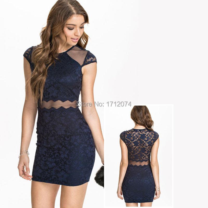Cheap Navy Blue Dresses
