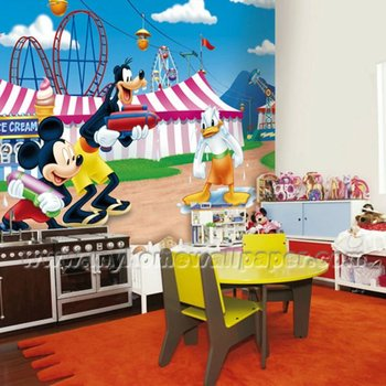 Mickey Cartoon Wall Paper Murals For Kids D1 00101 Buy Wall Murals For Kids Roomswall Mural Designcartoons For Fun Wallpaper Murals Product On