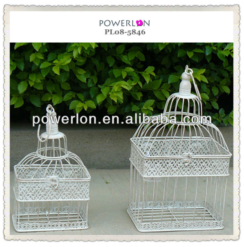 bird cage style wedding card holder