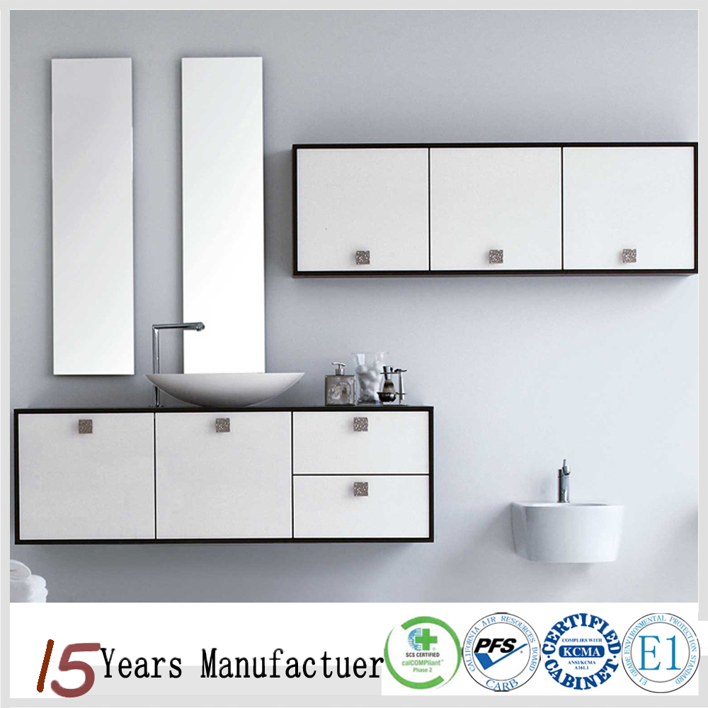 Wall Mounted Makeup Bathroom Cabinet Vanity - Buy Makeup Cabinet ...