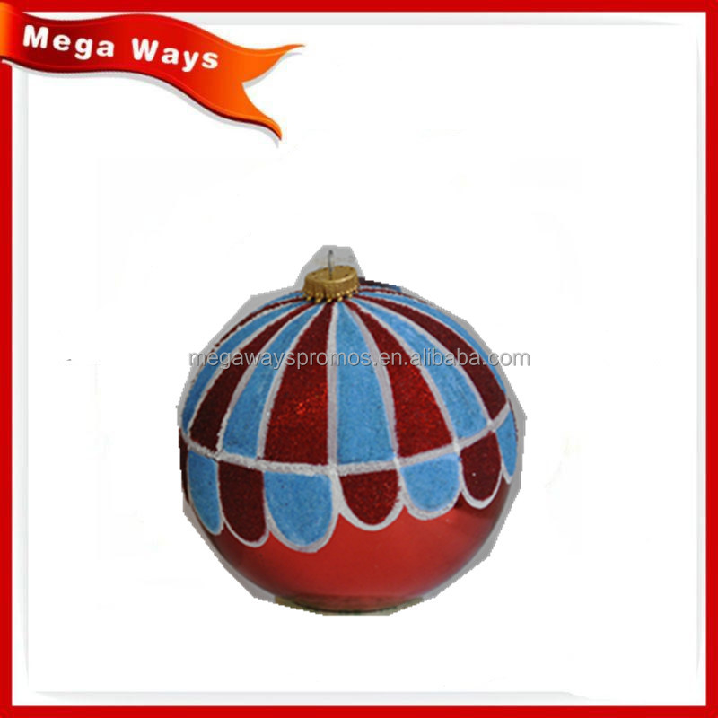 Hanging christmas tree decoration plastic ball baubles