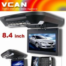 CAD-8480/8.4 inch filp down DVD car lcd monitor