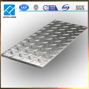 Metal 6061 Aluminium Checkered Plate for Floor and Decoration