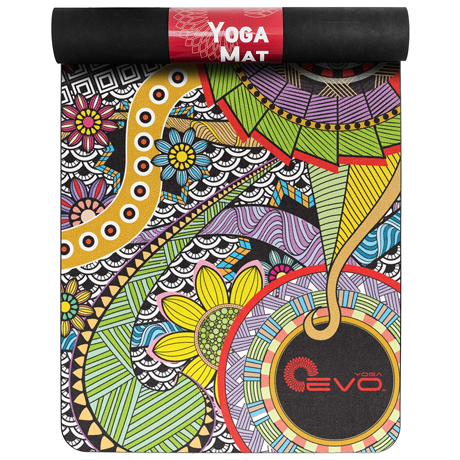 "Yoga EVO 71""x 26"" Yoga Mat Pro - 3mm - Available in 3 Colors (Black, Pink, Purple)"