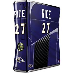 NFL Baltimore Ravens Xbox 360 Slim (2010) Skin - Ray Rice - Baltimore Ravens Vinyl Decal Skin For Your Xbox 360 Slim (2010)