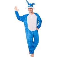 New Design Unique Funny Party Animal Bunny bule rabit Cosplay Costumes for carnival party