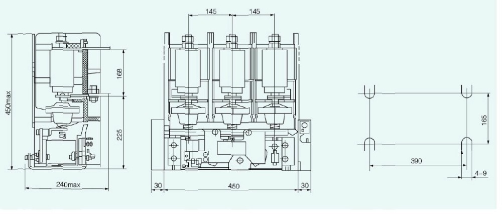 jcz5 12d 3 phase vacuum magnetic definite purpose contactors jcz5 12d 3 phase vacuum magnetic definite purpose contactors function wiring diagram